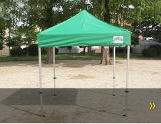 車メーカー用テント